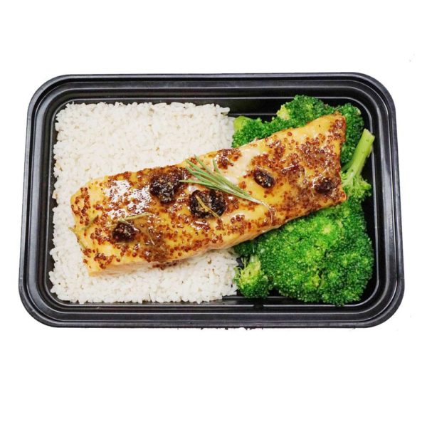 Lean On Meals Baked Cranberry Dijon & Rosemary Salmon