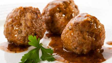 Gluten Free Roasted Turkey Meatballs