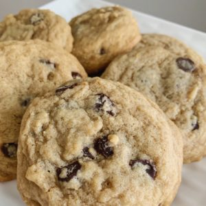 Chewy Protein Chocolate Chip Cookies